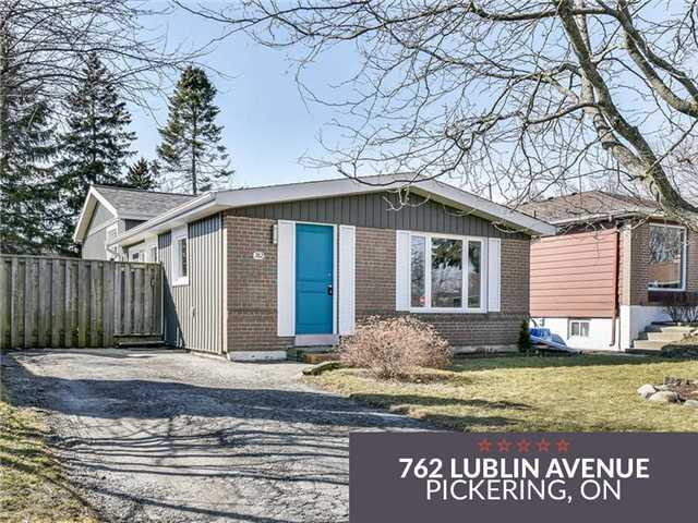pictures of 762 Lublin Ave, Pickering L1W1Z3