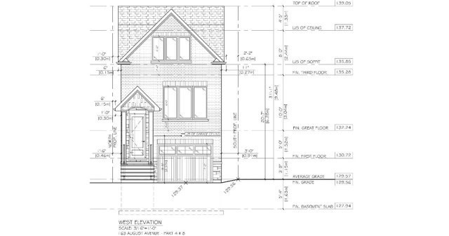 pictures of house for sale MLS: E4651774 located at 169 August Ave, Toronto M1L3N3