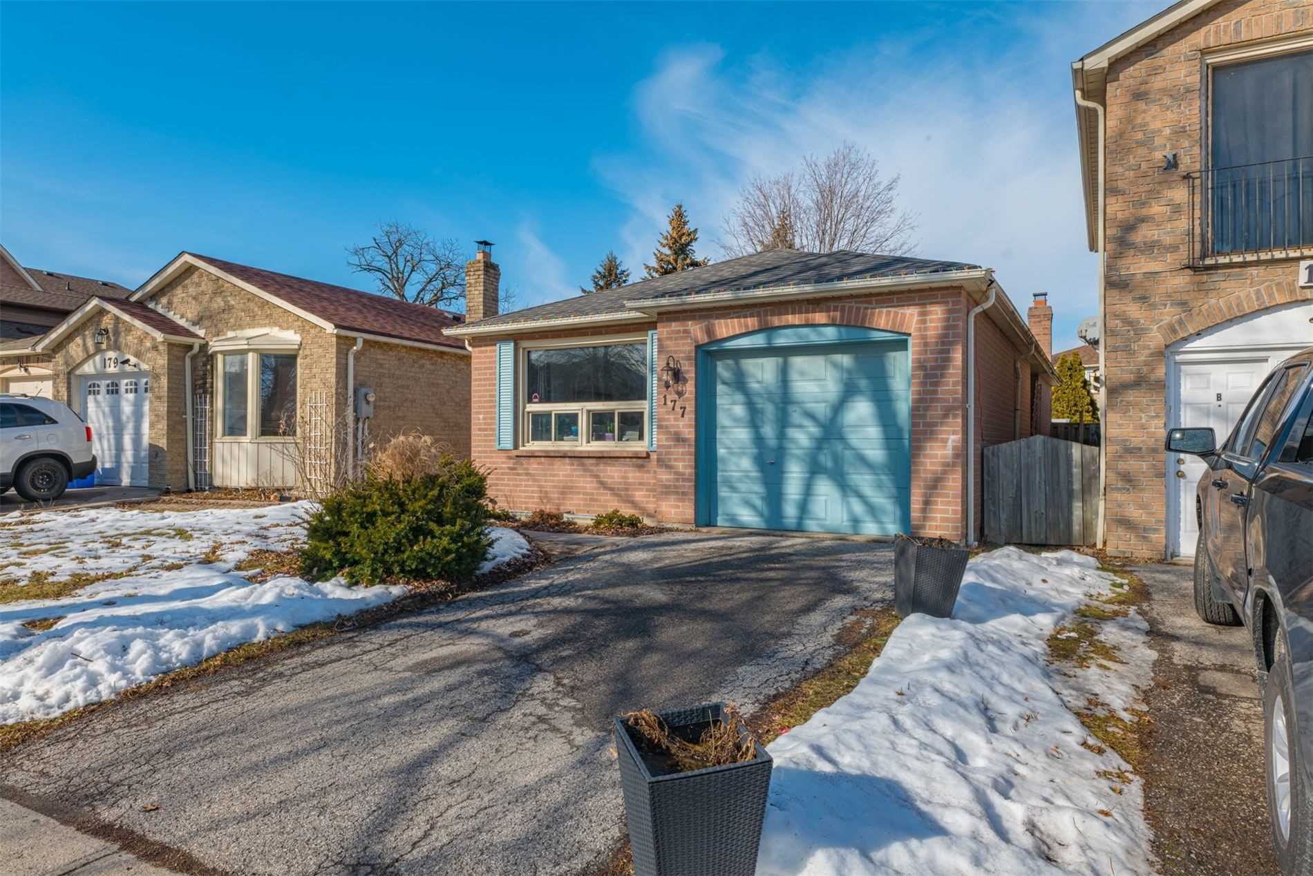 pictures of house for sale MLS: E4683976 located at 177 Delaney Dr, Ajax L1T2B5