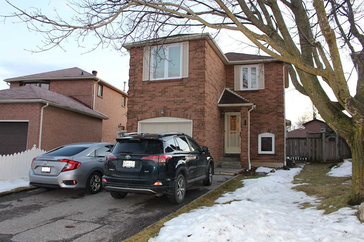 pictures of house for sale MLS: E4684197 located at 46 Tipton Cres, Ajax L1T2K9