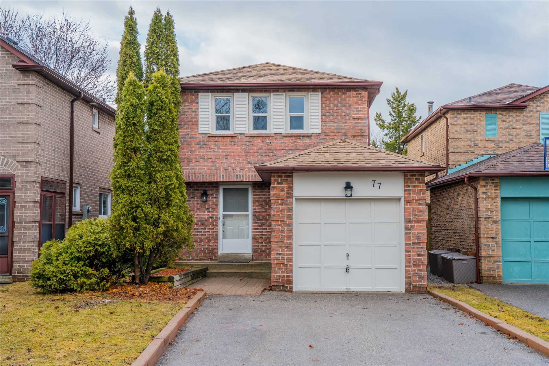 pictures of house for sale MLS: E4729880 located at 77 Chatfield Dr, Ajax L1T2J4