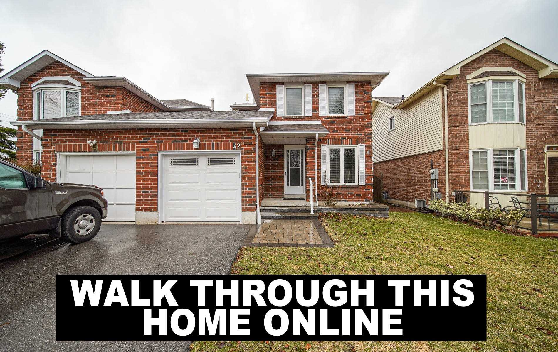 pictures of house for sale MLS: E4734477 located at 42 Hewitt Cres, Ajax L1S7A4