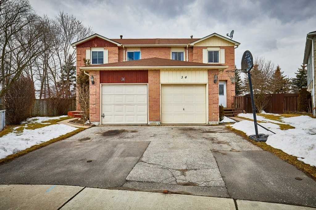 pictures of house for sale MLS: E4736535 located at 34 Tams Dr, Ajax L1Z1A2