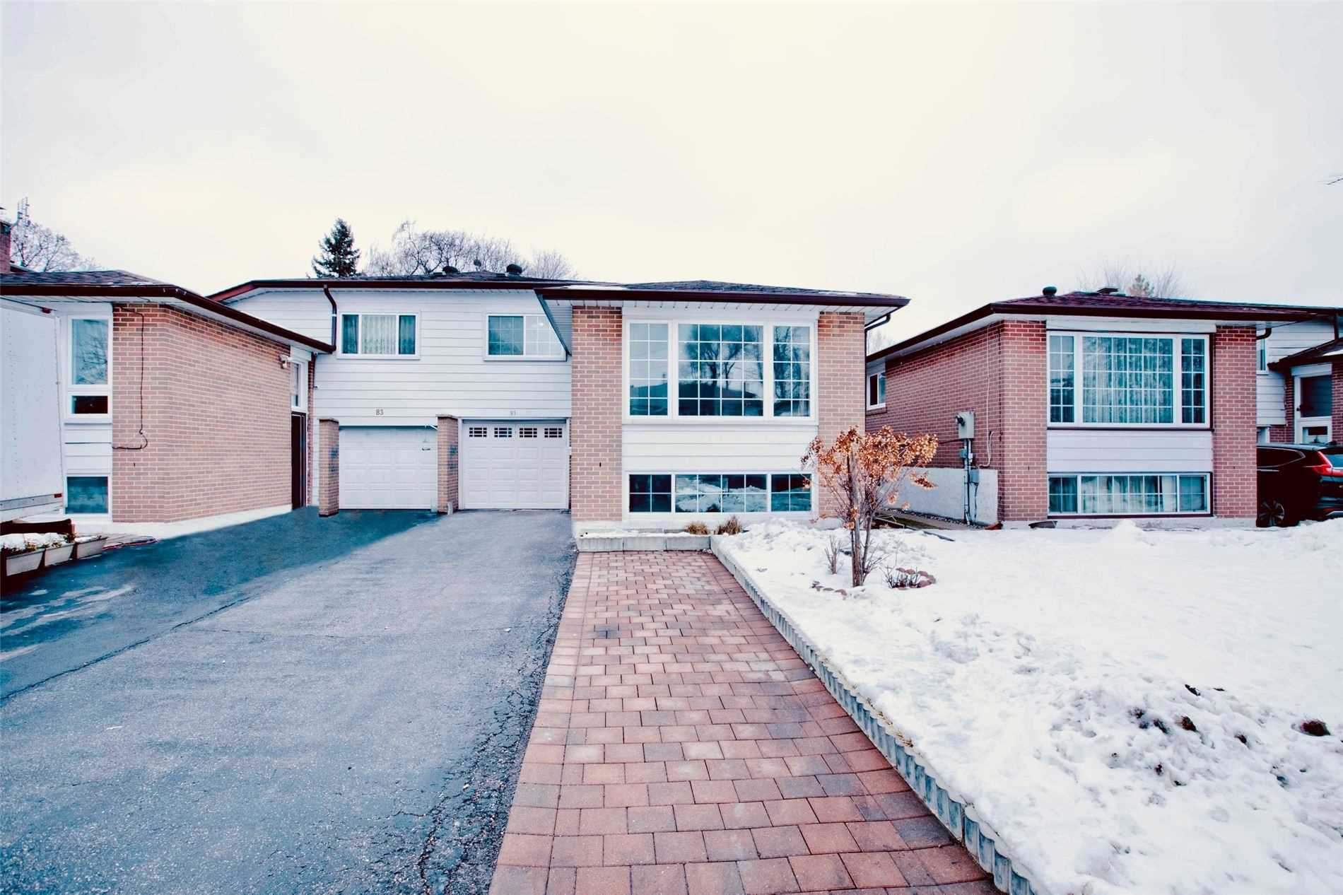 pictures of house for sale MLS: E5086149 located at 81 Glenstroke Dr, Toronto M1S3A1