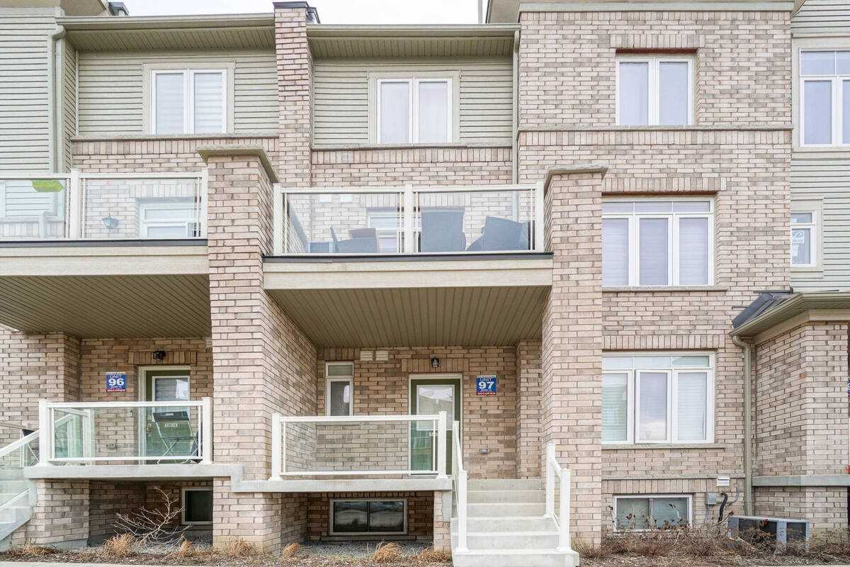 Image 1 of 38 showing inside of 2 Bedroom Condo Townhouse Stacked Townhse for Sale at 1806 Rex Heath Dr Unit# 97, Pickering L1X0E6
