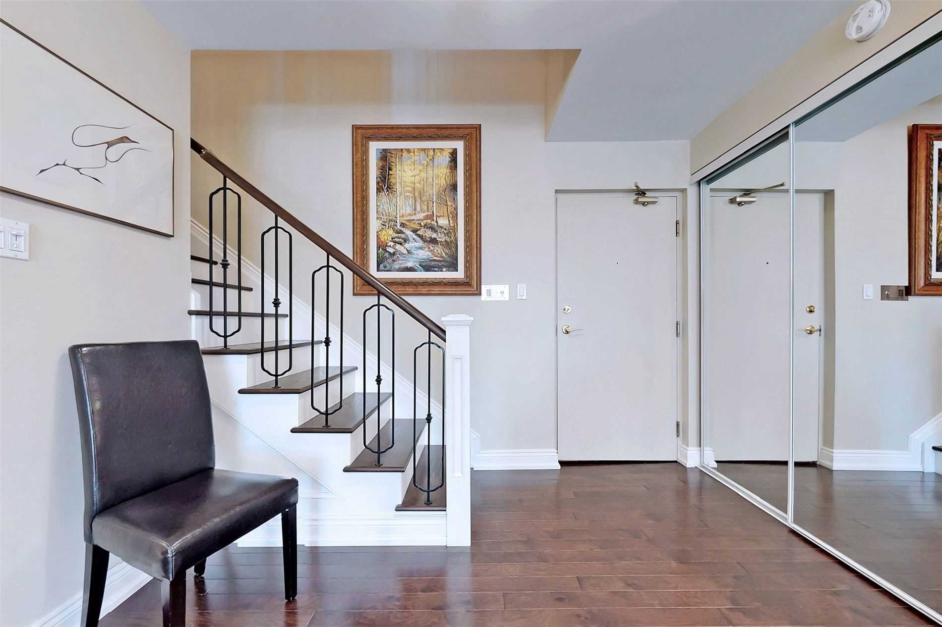 Image 9 of 40 showing inside of 2 Bedroom Condo Apt 2-Storey for Sale at 25 Cumberland Lane Unit# 105, Ajax L1S7K1
