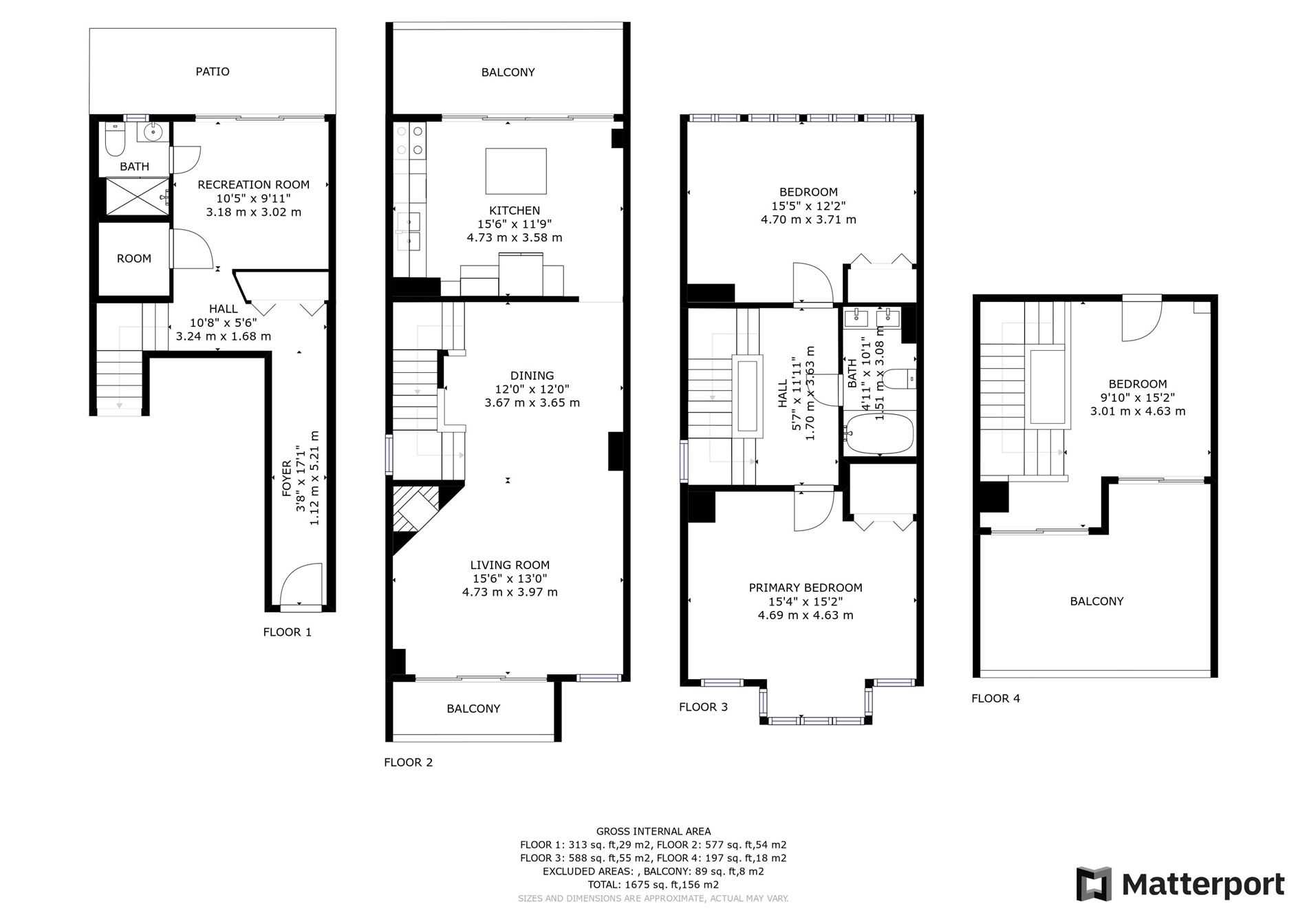 Image 35 of 40 showing inside of 3 Bedroom Condo Townhouse 3-Storey for Sale at 14 Cumberland Lane Unit# 7, Ajax L1S7K4