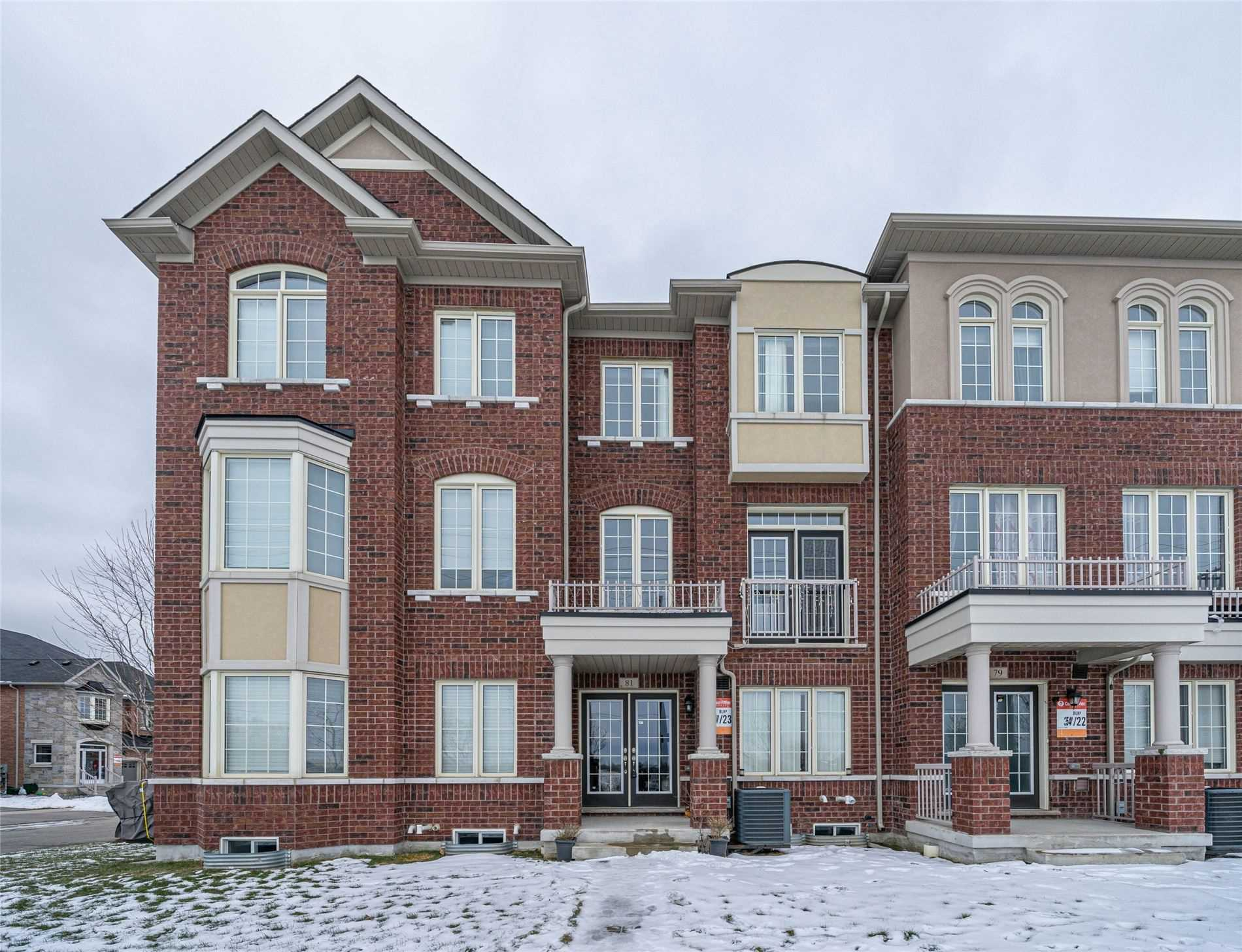pictures of house for sale MLS: N5081229 located at 81 Memon Pl, Markham L6E0S3