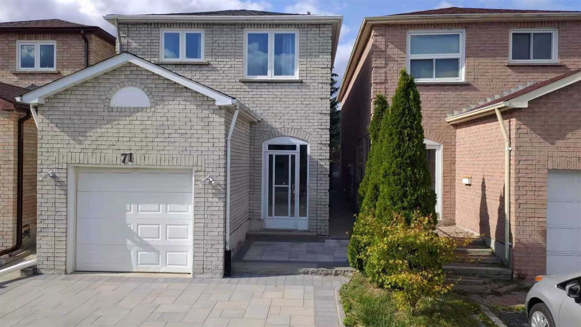 pictures of 71 Trafford Cres, Markham L3R7J3
