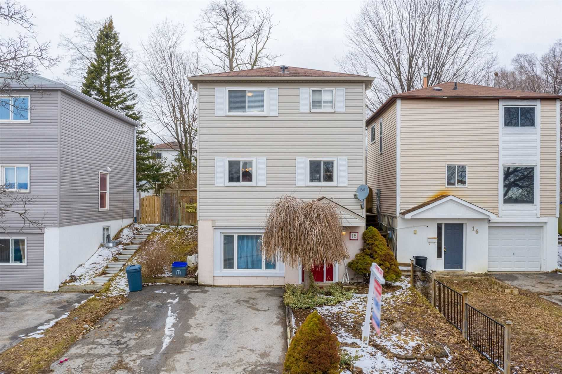 pictures of house for sale MLS: S4731029 located at 18 Browning Tr, Barrie L4N4Z4