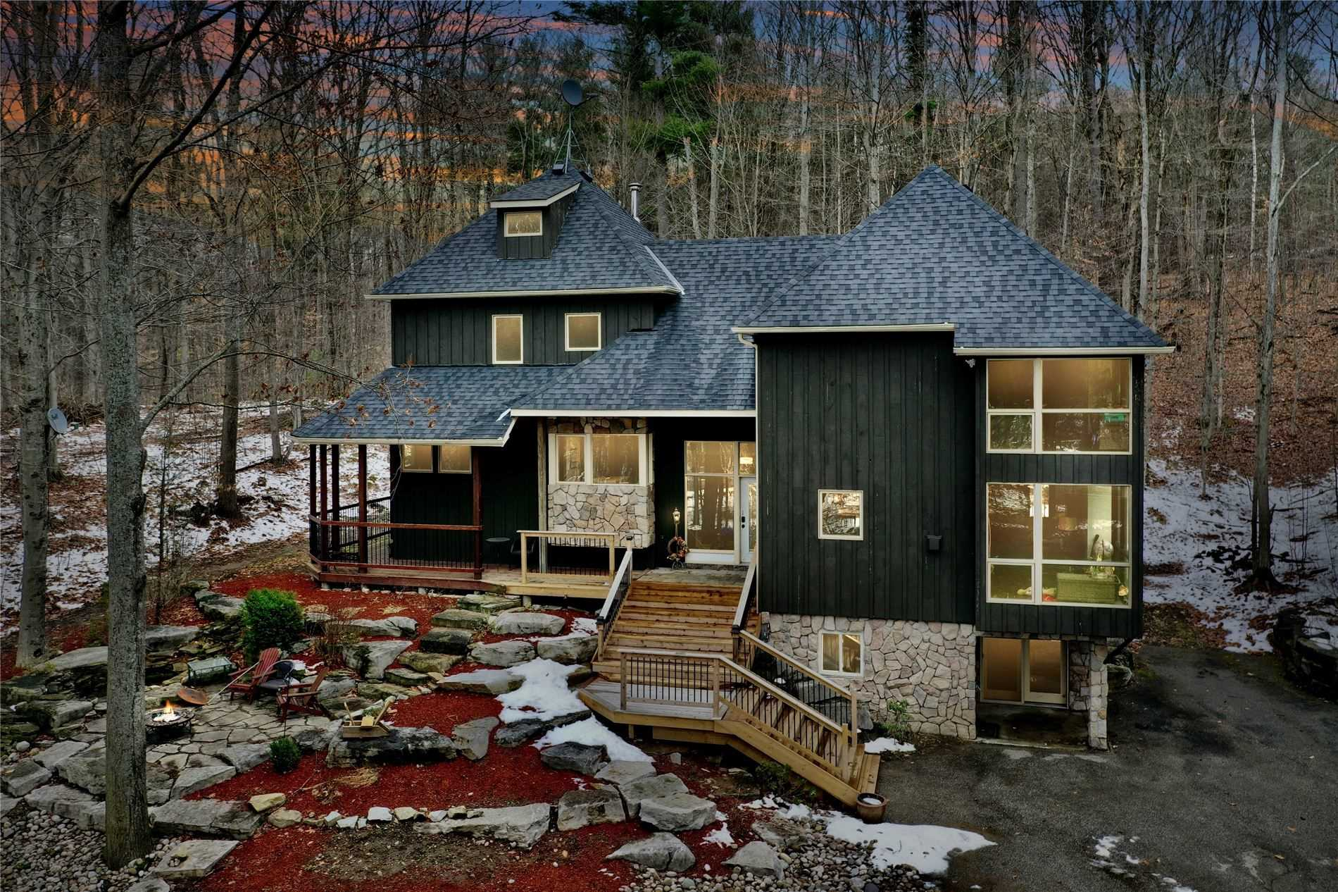 pictures of house for sale MLS: S5075591 located at 5 St. Antoine Cres, Oro-Medonte L0L1V0