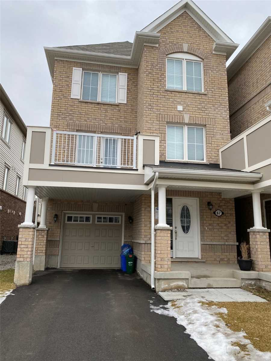 pictures of house for sale MLS: W4702131 located at 67 Bond Head Crt, Milton L9E1G4