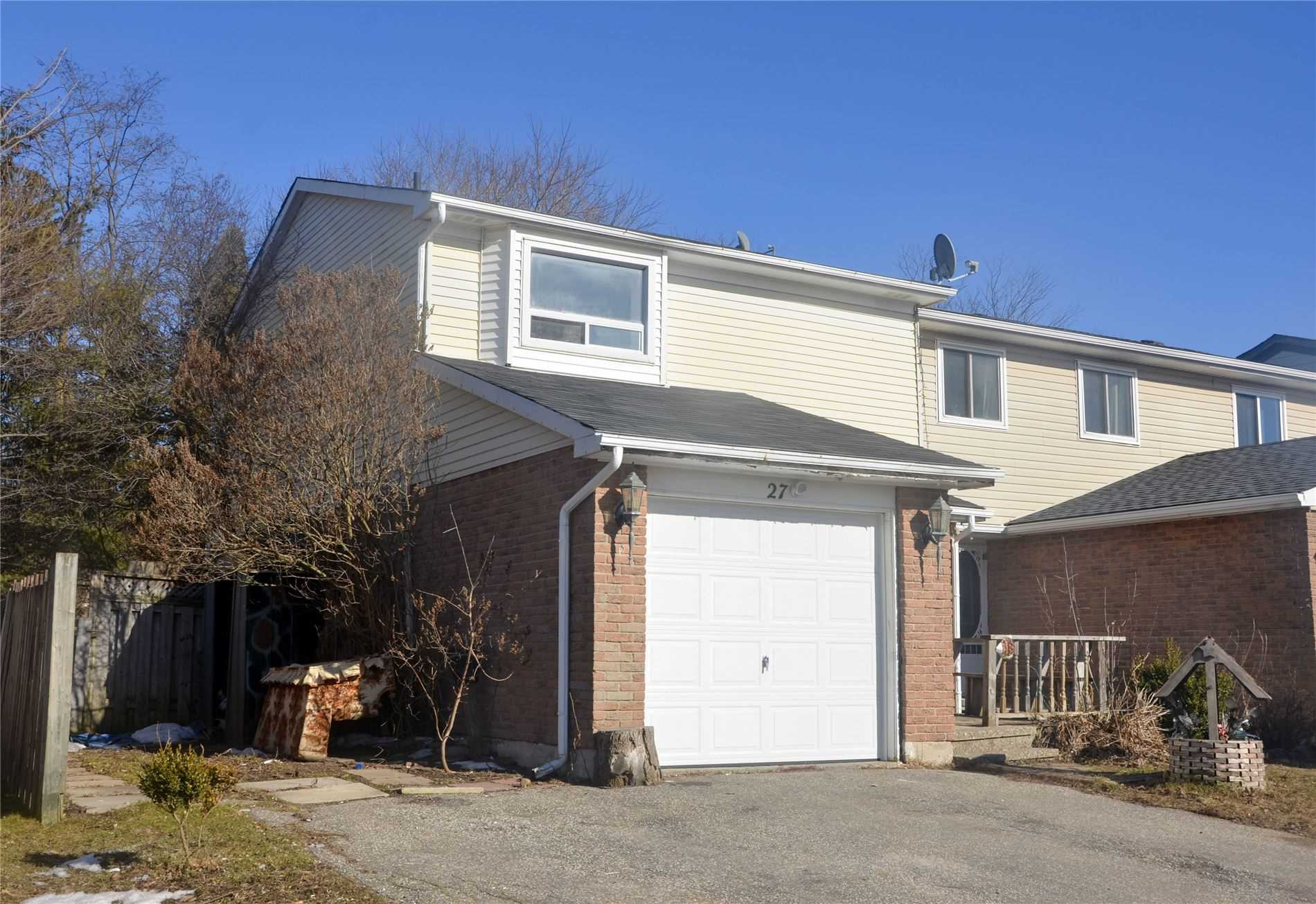 pictures of house for sale MLS: W4724370 located at 27 Burbank Cres, Orangeville L9W3E6
