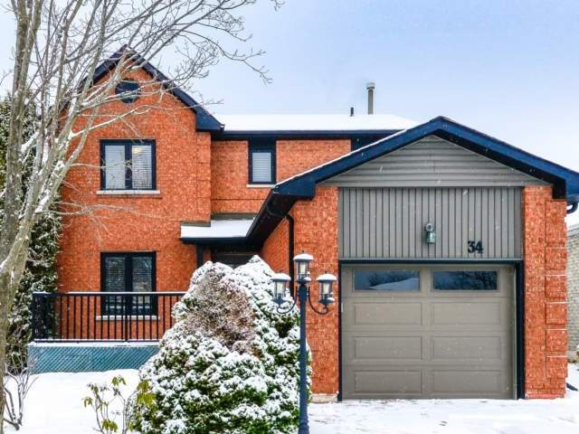 pictures of house for sale MLS: W4732423 located at 34 Fieldgate Dr, Orangeville L9W4R9