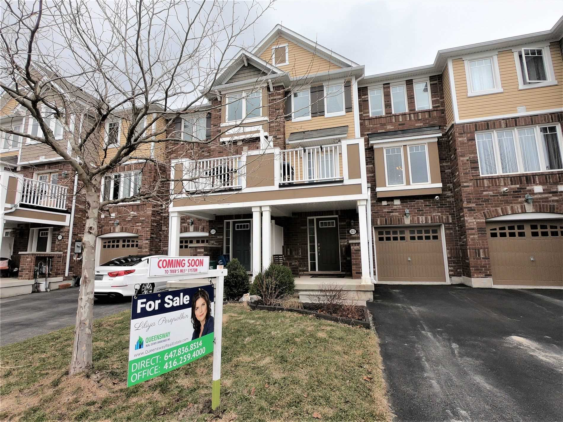 pictures of house for sale MLS: W4732829 located at 223 Woodley Cres, Milton L9T8C4
