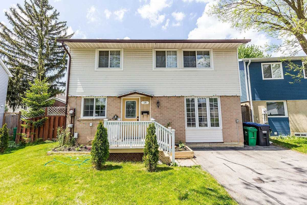 pictures of house for sale MLS: W4771796 located at 18 Handel Crt, Brampton L6S1Y4