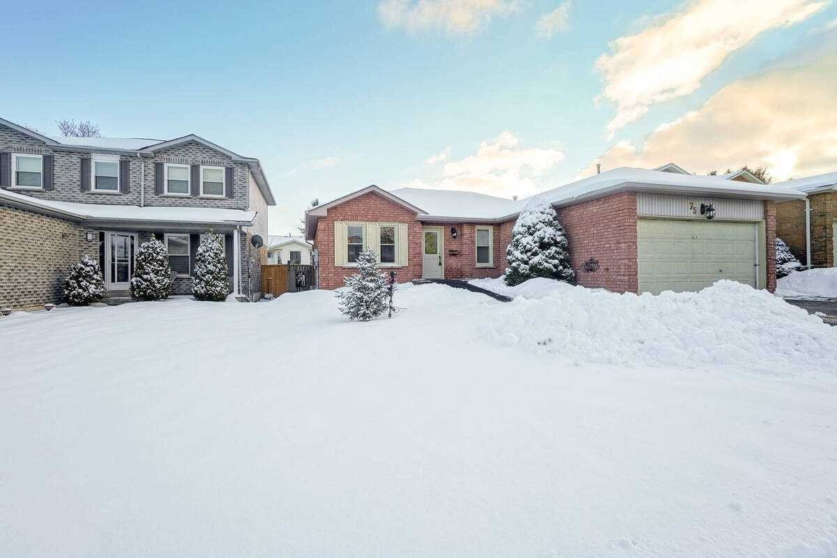 pictures of house for sale MLS: W5080183 located at 75 Pheasant Dr, Orangeville L9W4K3
