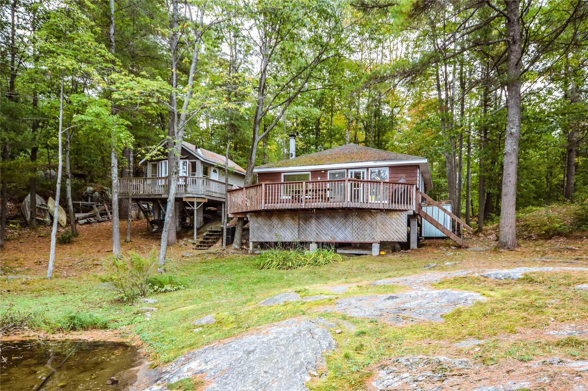 pictures of house for sale MLS: X4601493 located at 6808 Go Home Lake, Georgian Bay P0C1H0