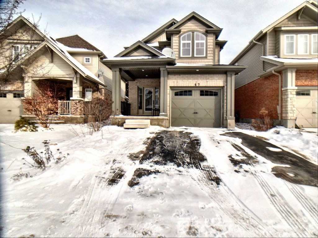 pictures of house for sale MLS: X4666052 located at 67 Laughland Lane, Guelph N1L0C6