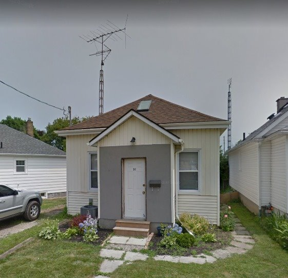 pictures of house for sale MLS: X4667342 located at 16 East St, St. Catharines L2R3Y8