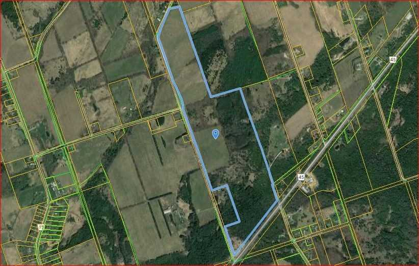 pictures of house for sale MLS: X4679280 located at 0 Hickerson Rd, Hamilton Township K0K1C0