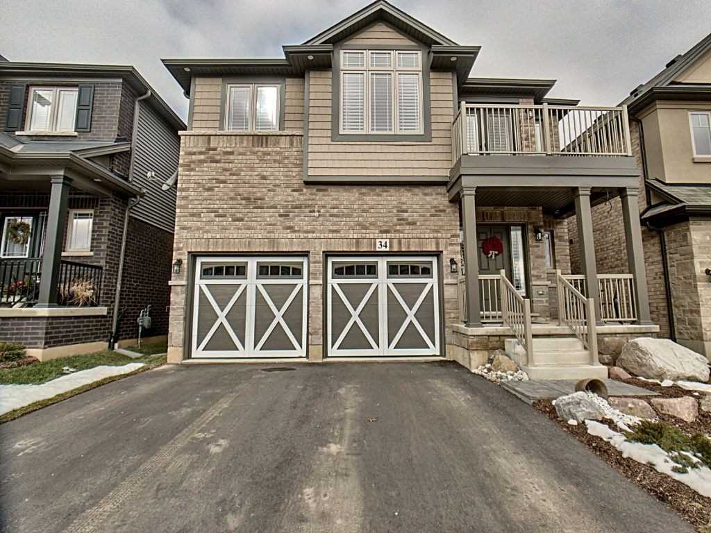 pictures of house for sale MLS: X4679895 located at 34 Vic Chambers Pl, Brant N3L0E6