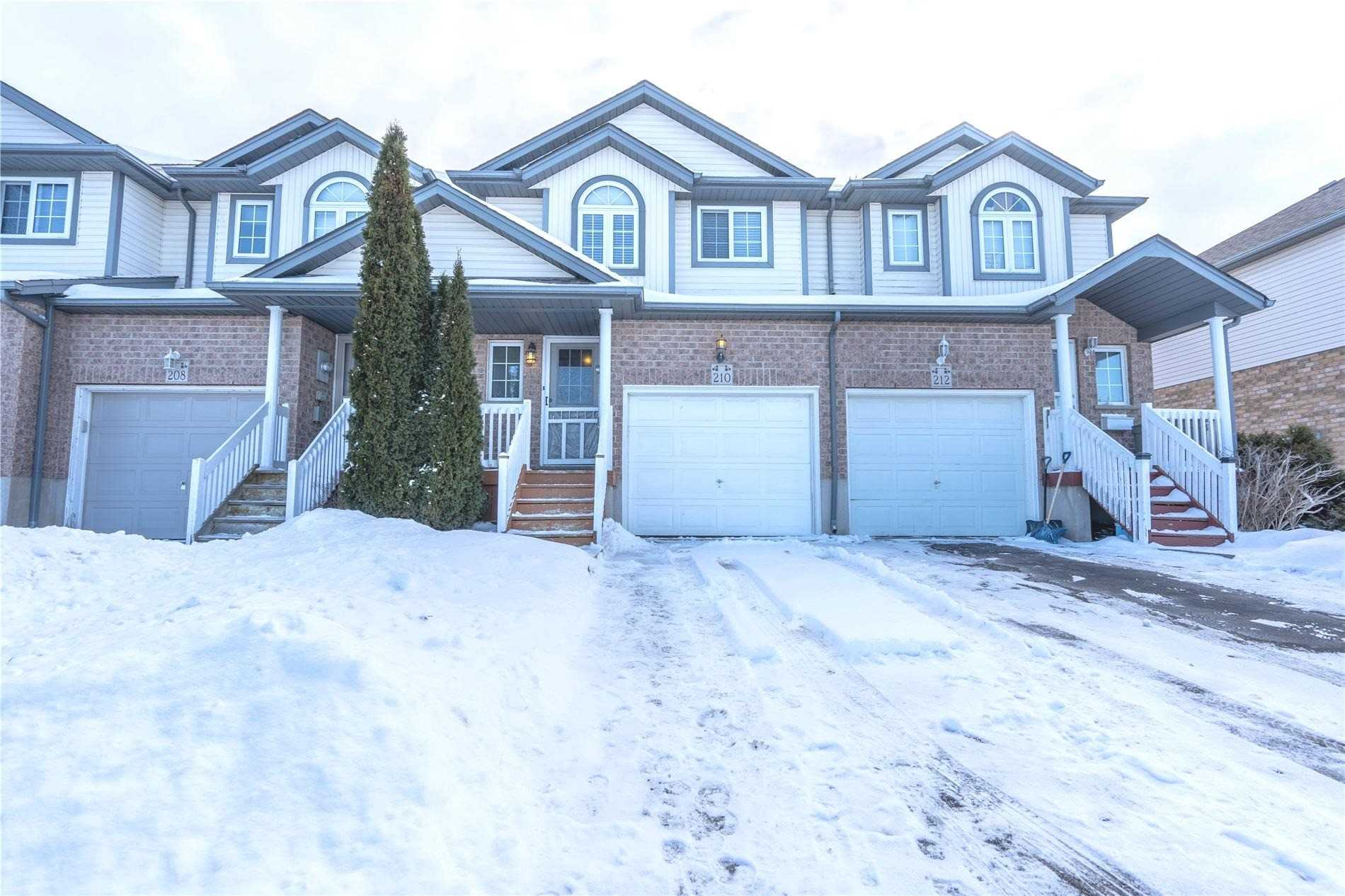 pictures of house for sale MLS: X4687634 located at 210 Activa Ave, Kitchener N2E3T8