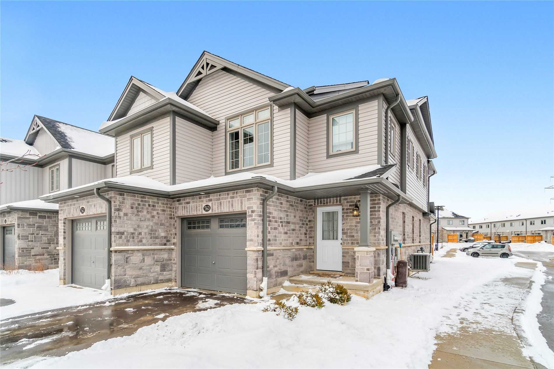 pictures of house for sale MLS: X4690191 located at 560 Blair Creek Dr, Kitchener N2P0E4