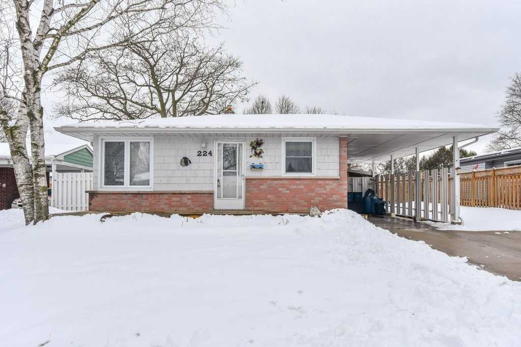 pictures of house for sale MLS: X4690686 located at 224 Winston Blvd, Cambridge N3C1M5
