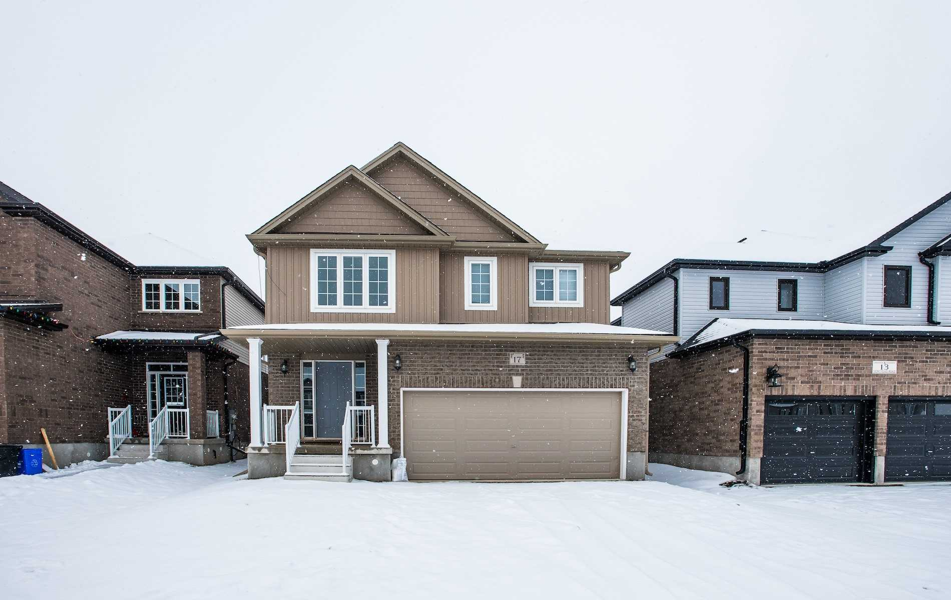 pictures of house for sale MLS: X4692652 located at 17 Newstead Rd, Brant N3L0G2