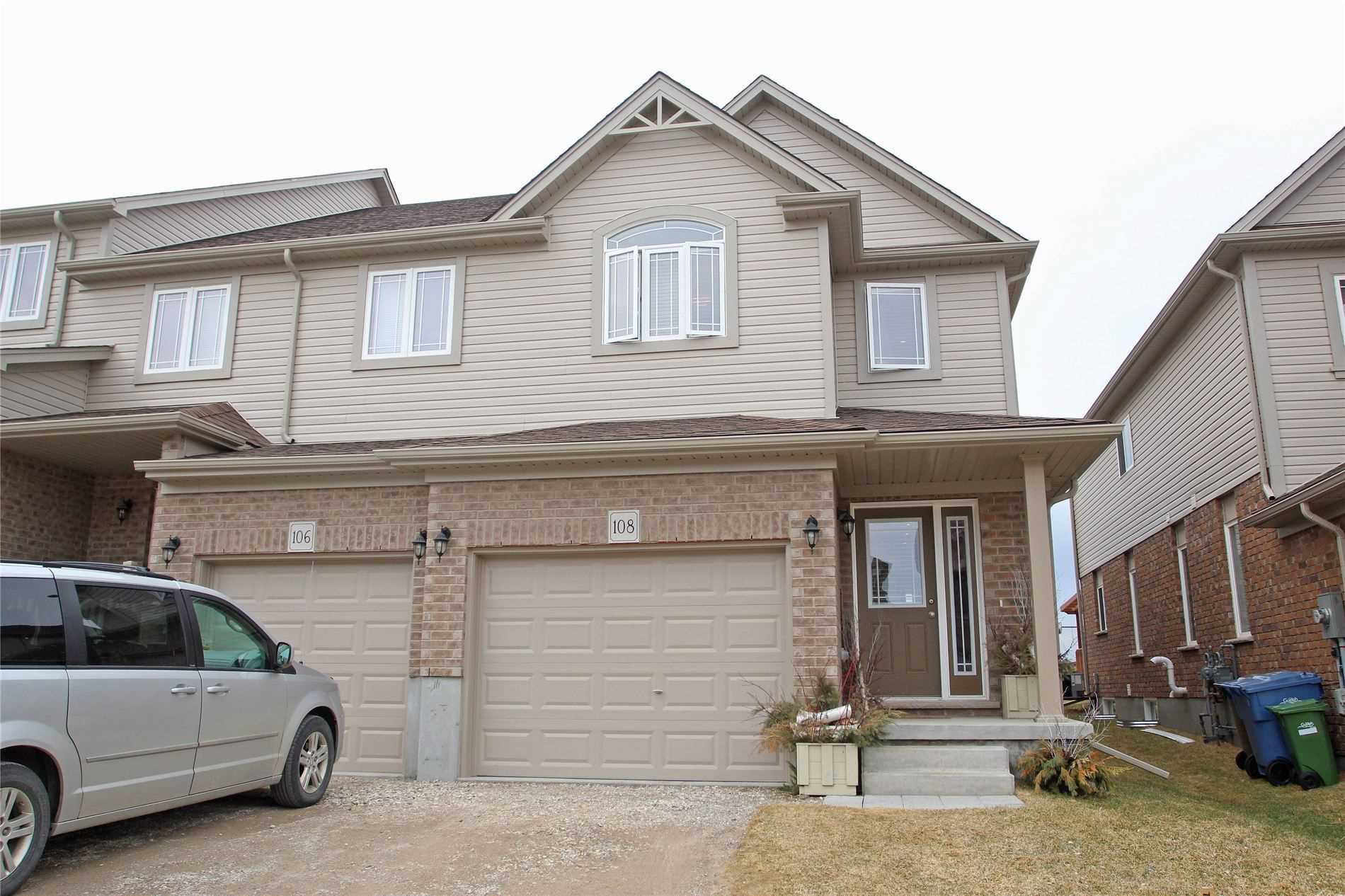 pictures of house for sale MLS: X4693365 located at 108 Drone Cres, Guelph N1K0B9