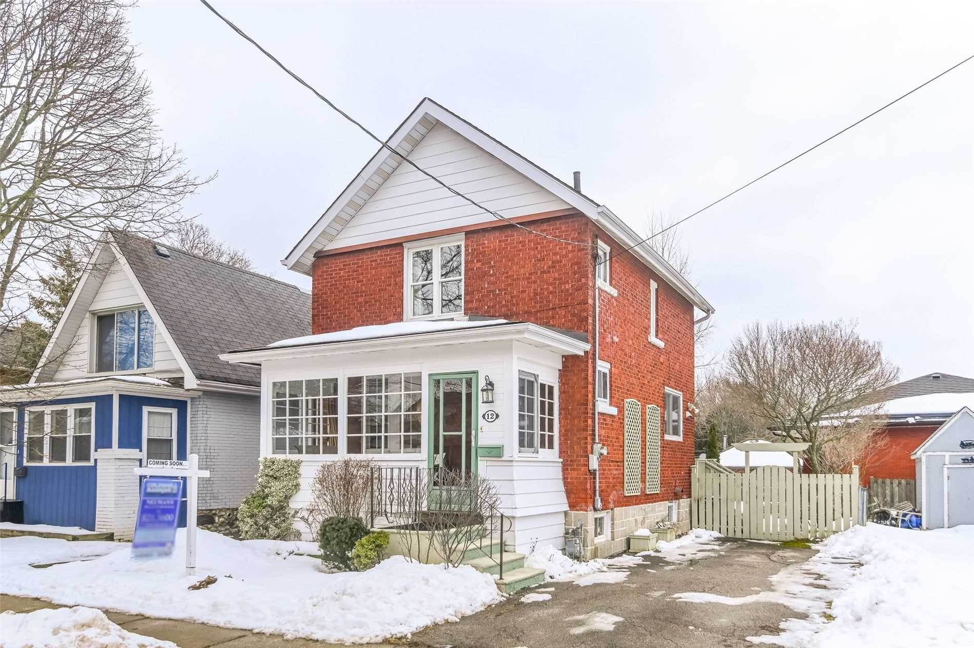 pictures of house for sale MLS: X4702544 located at 12 Bagot St, Guelph N1H5S9