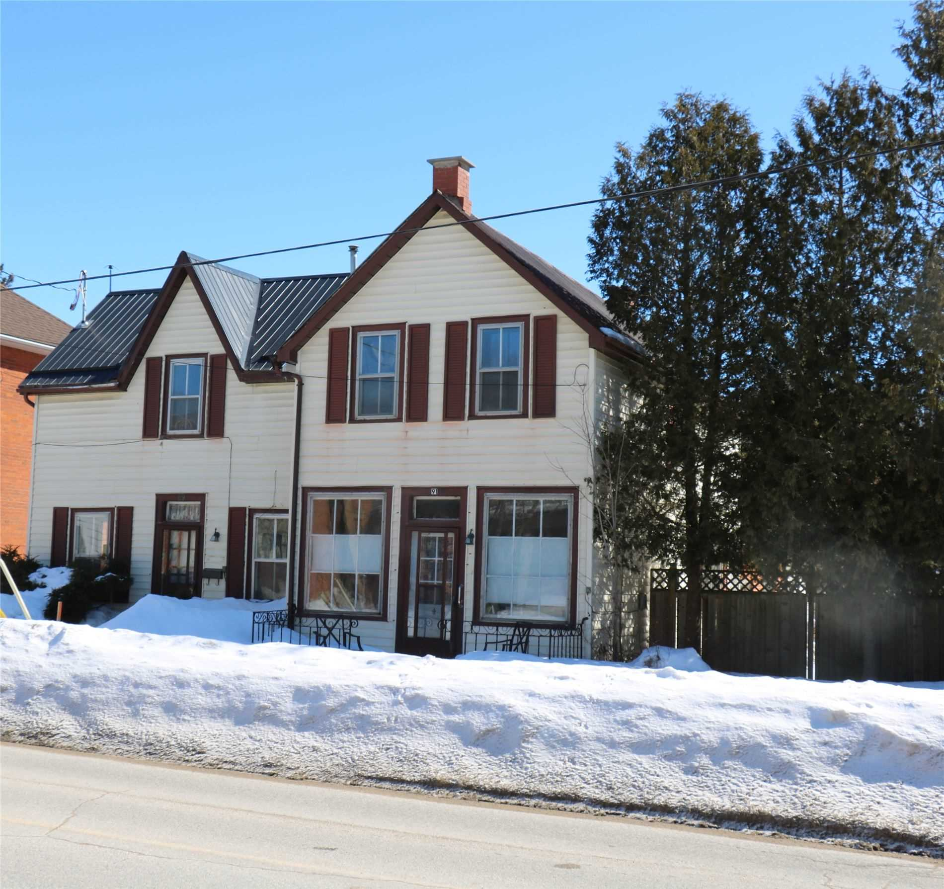 pictures of house for sale MLS: X4715115 located at 91 Main  St, Grey Highlands N0C1H0
