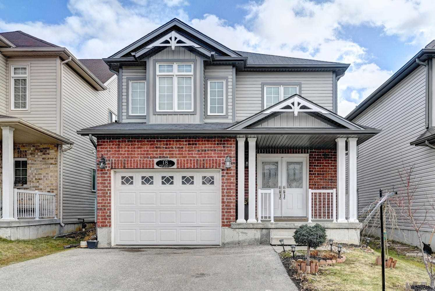 pictures of house for sale MLS: X4721546 located at 18 Iron Gate St, Kitchener N2N3R8