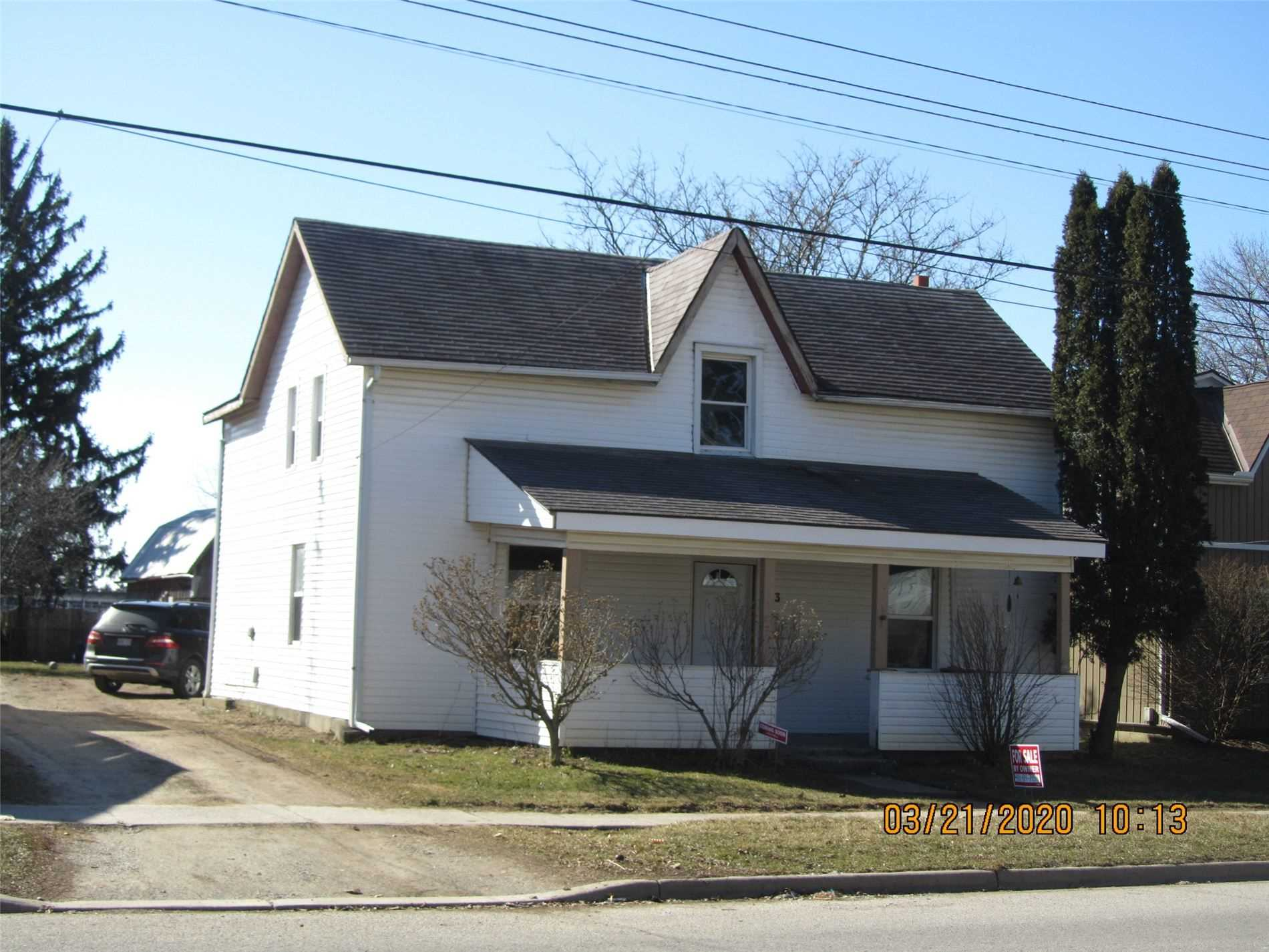 pictures of house for sale MLS: X4728988 located at 143 King St, Brant N0E1A0