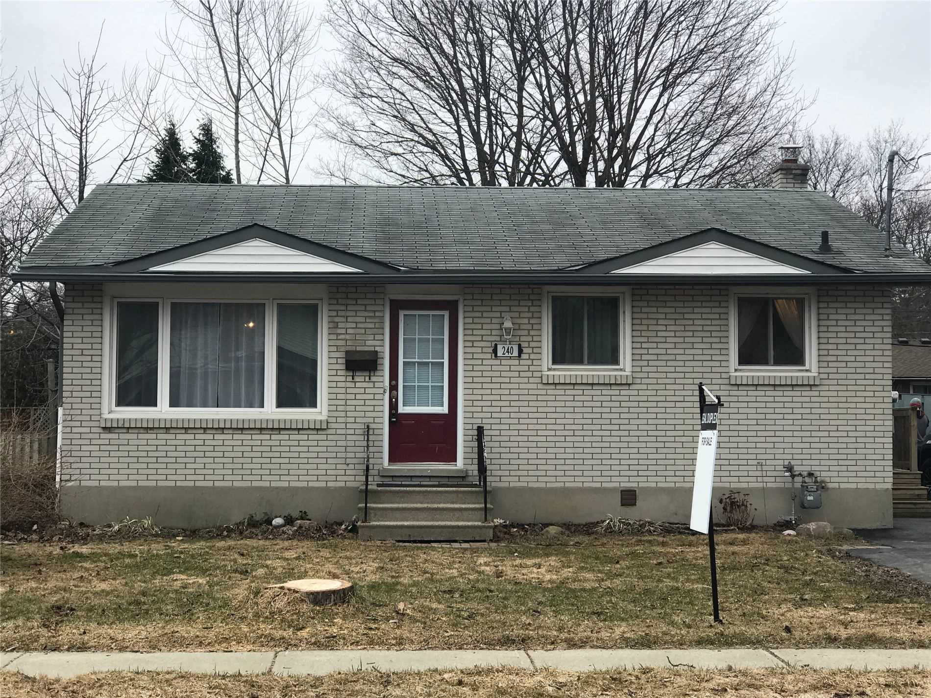 pictures of house for sale MLS: X4732822 located at 240 Alma St N, Guelph N1H5Y2