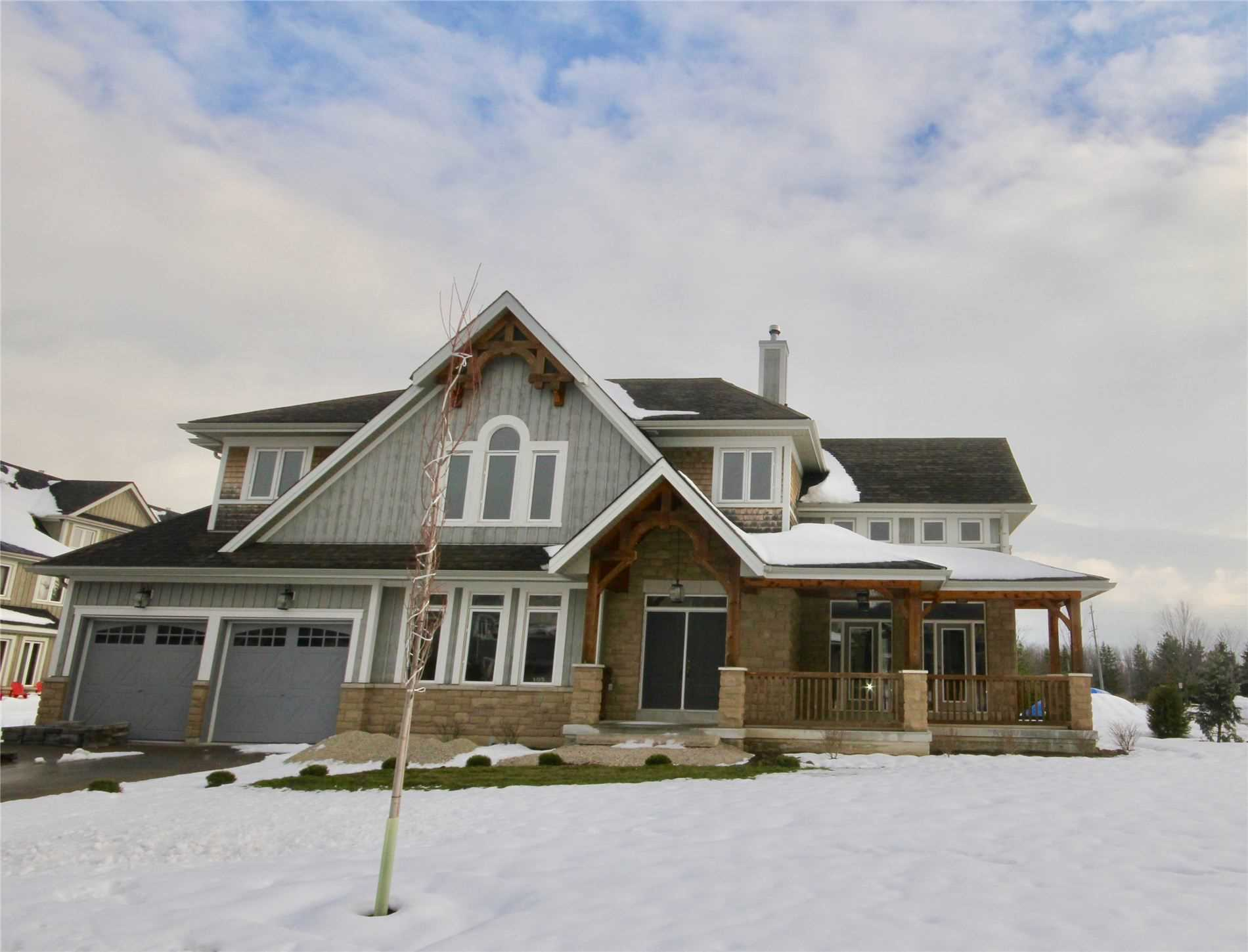 pictures of house for sale MLS: X5057651 located at 103 National Dr, Blue Mountains L9Y0B8