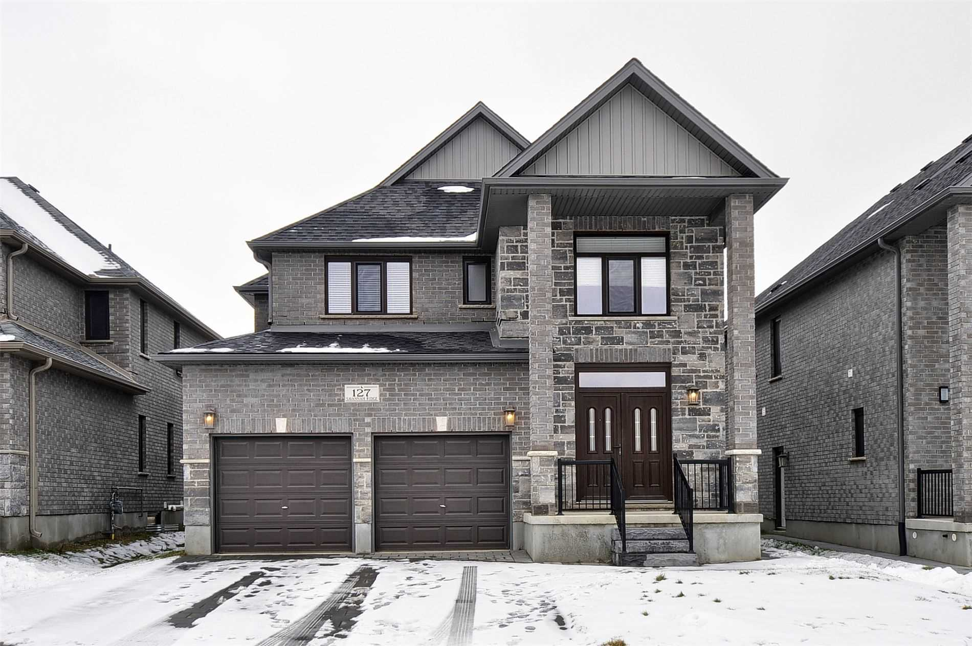 pictures of house for sale MLS: X5075010 located at 127 Savannah Ridge Dr, Brant N3L0G5