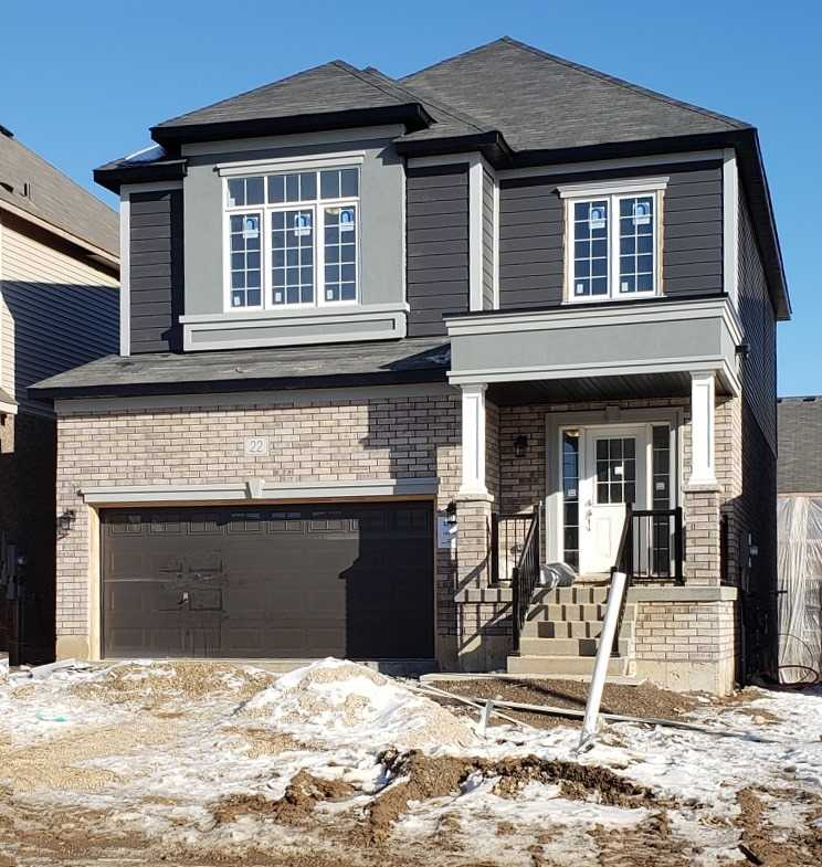 pictures of house for sale MLS: X5079149 located at 22 Doug Foulds Way, Brant N3L0K2