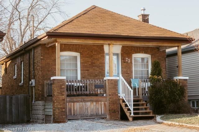 pictures of house for sale MLS: X5081155 located at 73 Park Row N, Hamilton L8H4E5