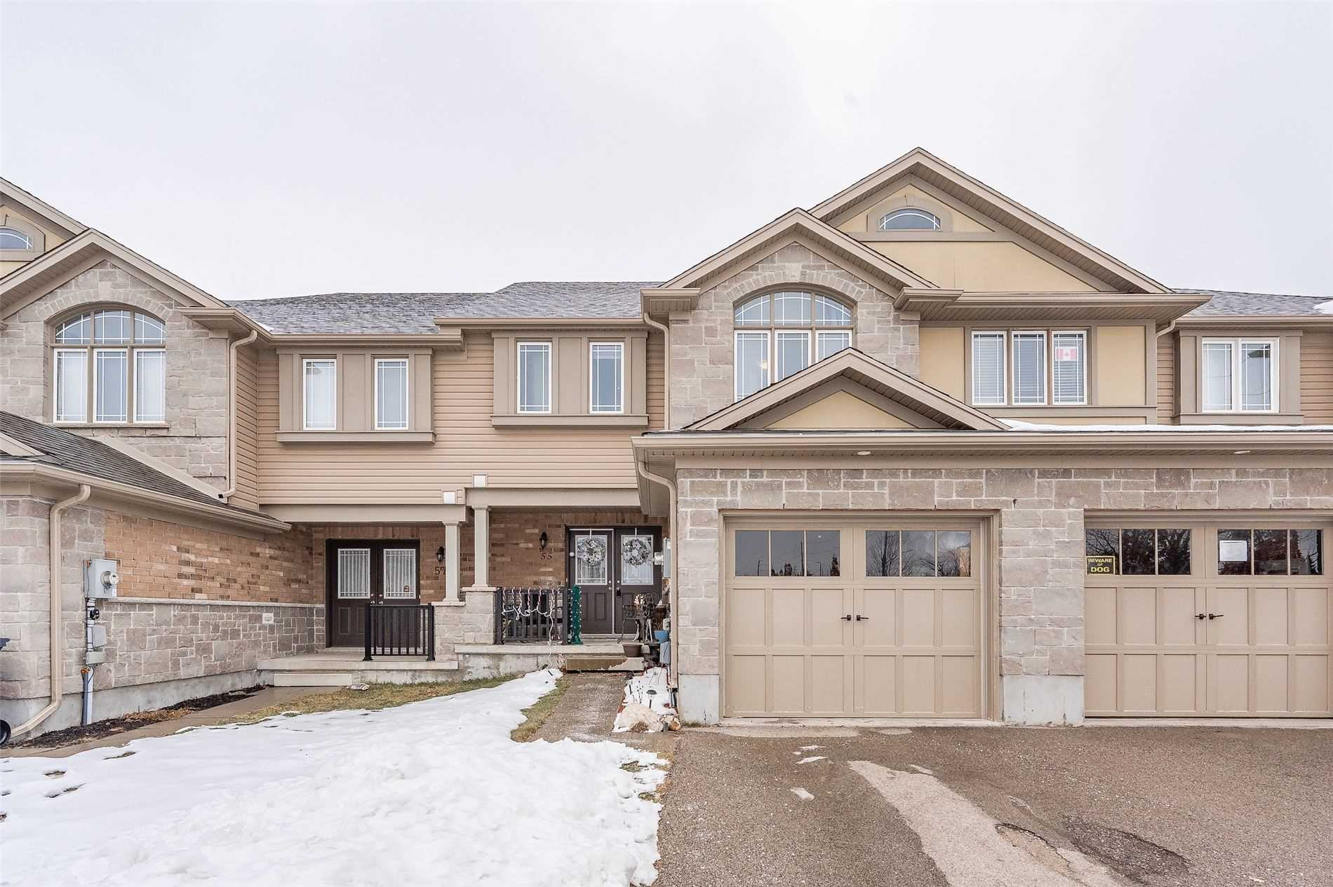 pictures of house for sale MLS: X5084533 located at 55 Laughland Lane, Guelph N1L0C9
