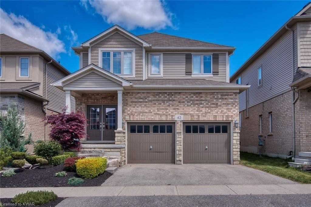 pictures of house for sale MLS: X5084757 located at 42 Creek Ridge St, Kitchener N2R0B5