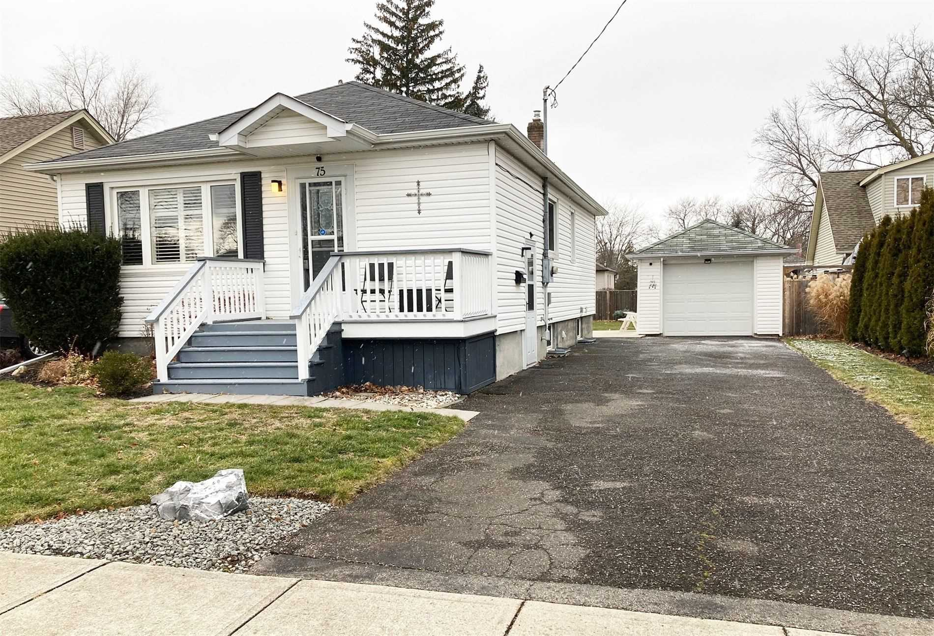 pictures of house for sale MLS: X5089310 located at 75 Else St, St. Catharines L2N2C4